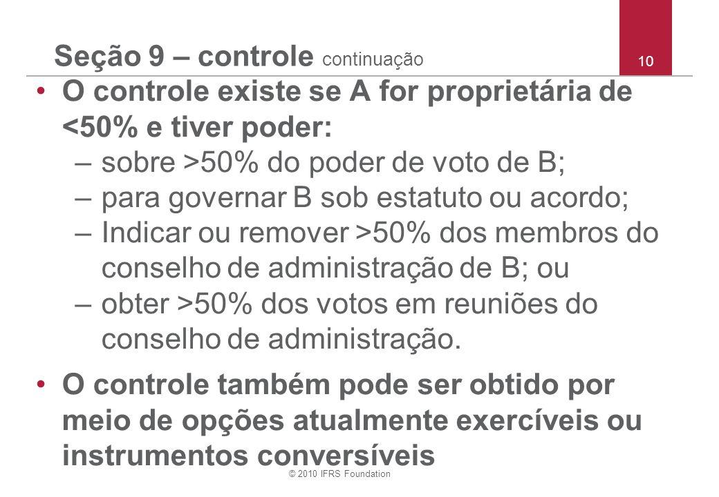 Seção 9 – controle continuação