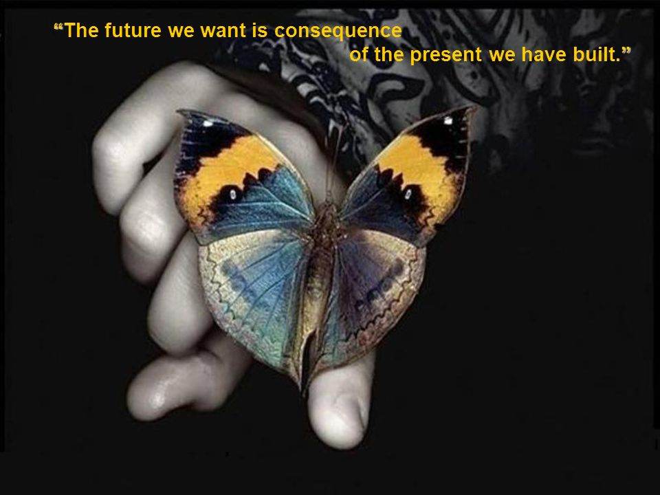The future we want is consequence