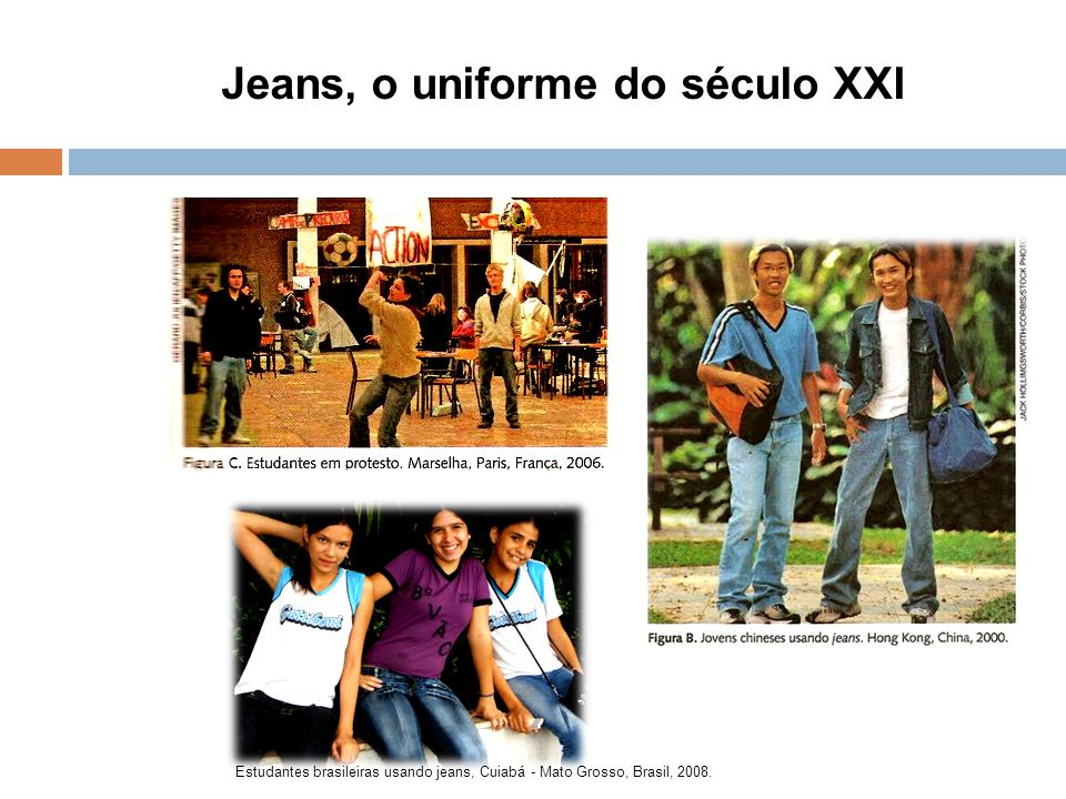Jeans, o uniforme do século XXI