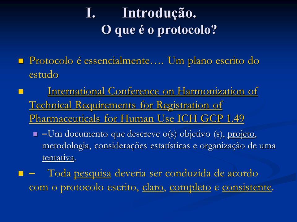 Introdução. O que é o protocolo