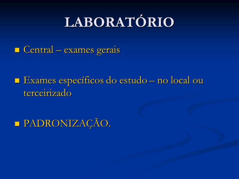 LABORATÓRIO Central – exames gerais