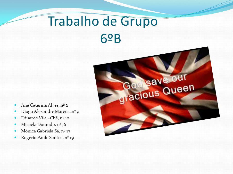 Trabalho de Grupo 6ºB Ana Catarina Alves, nº 2