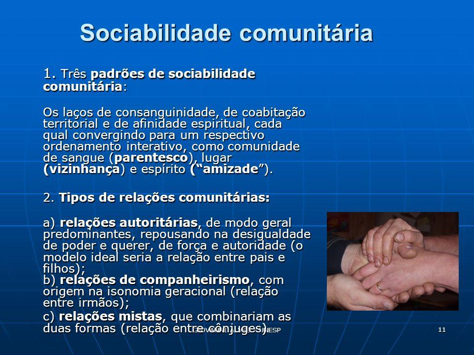 Sociabilidade comunitária