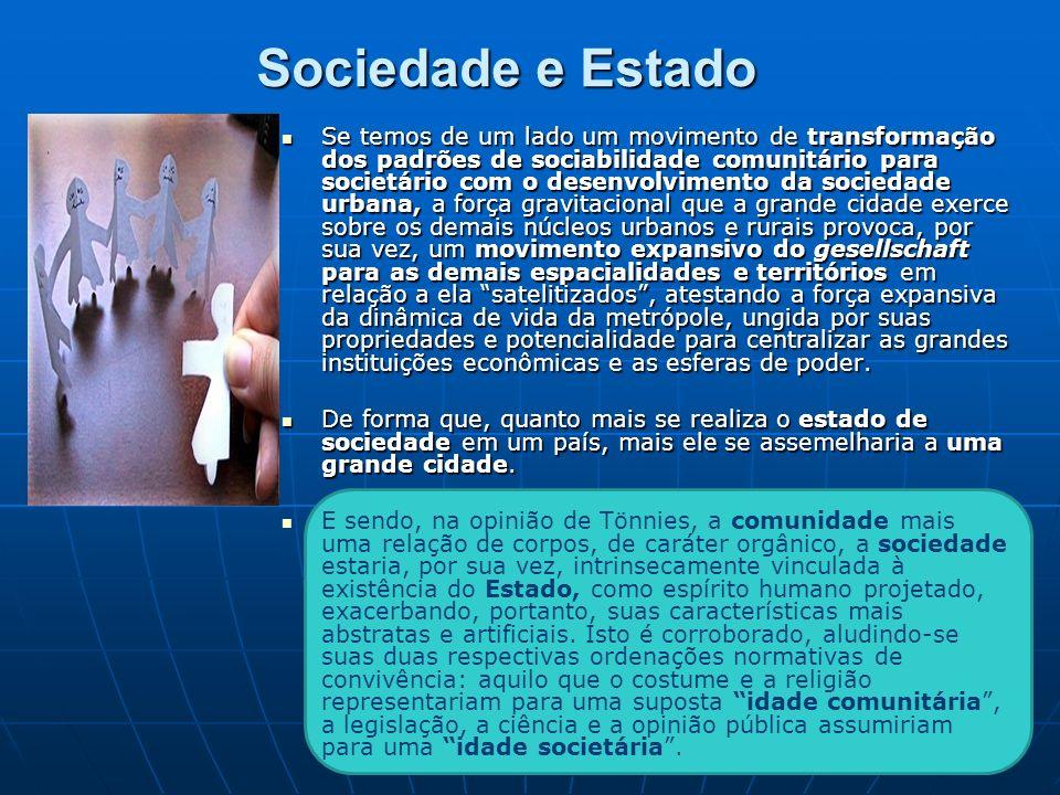Sociedade e Estado