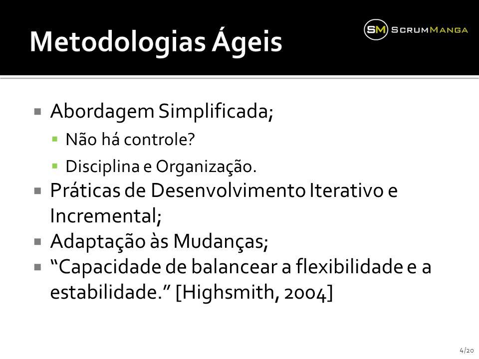 Metodologias Ágeis Abordagem Simplificada;