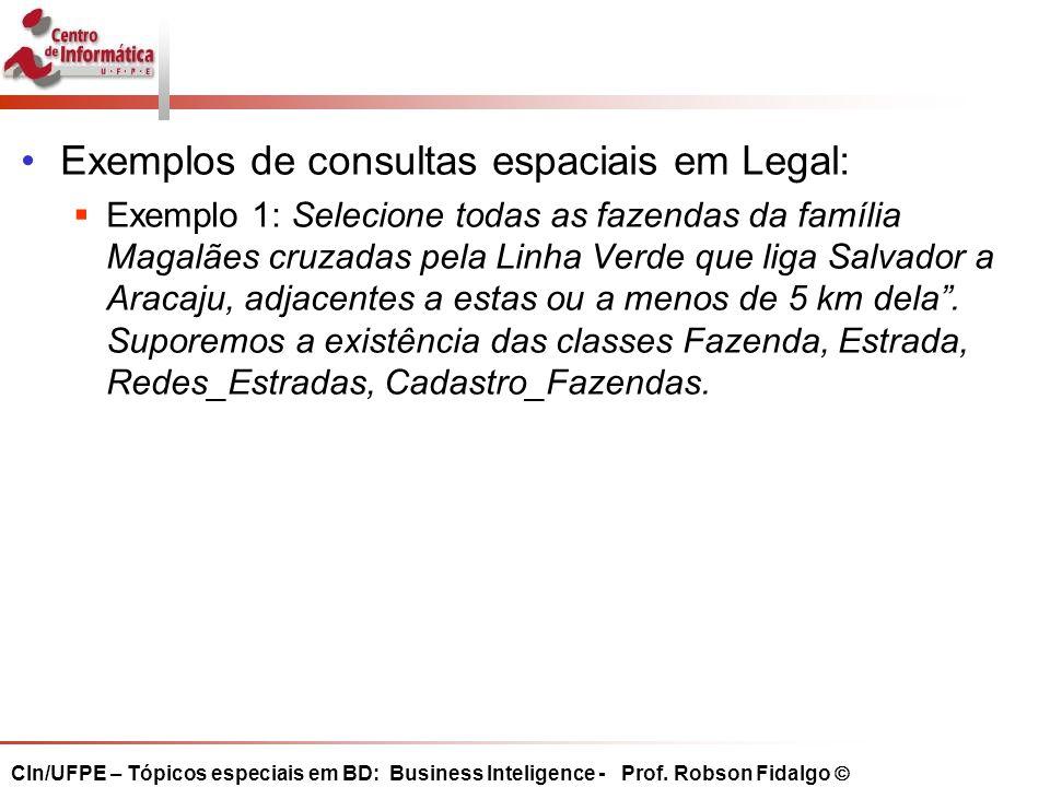 Exemplos de consultas espaciais em Legal: