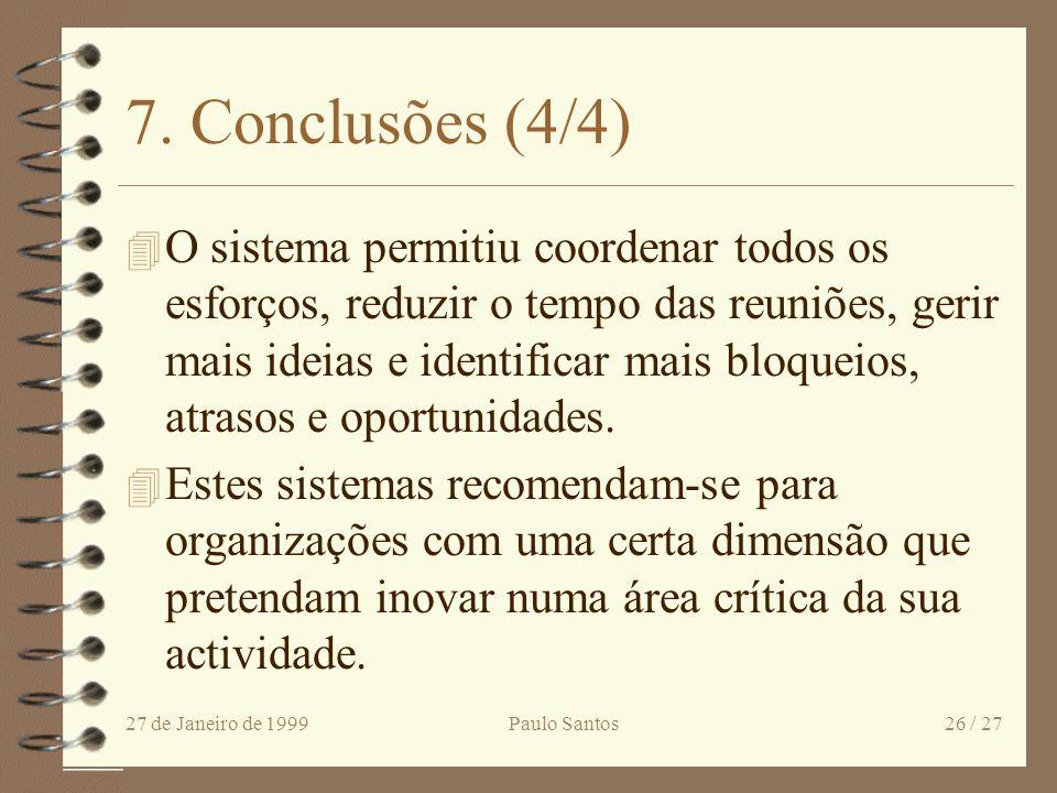 7. Conclusões (4/4)