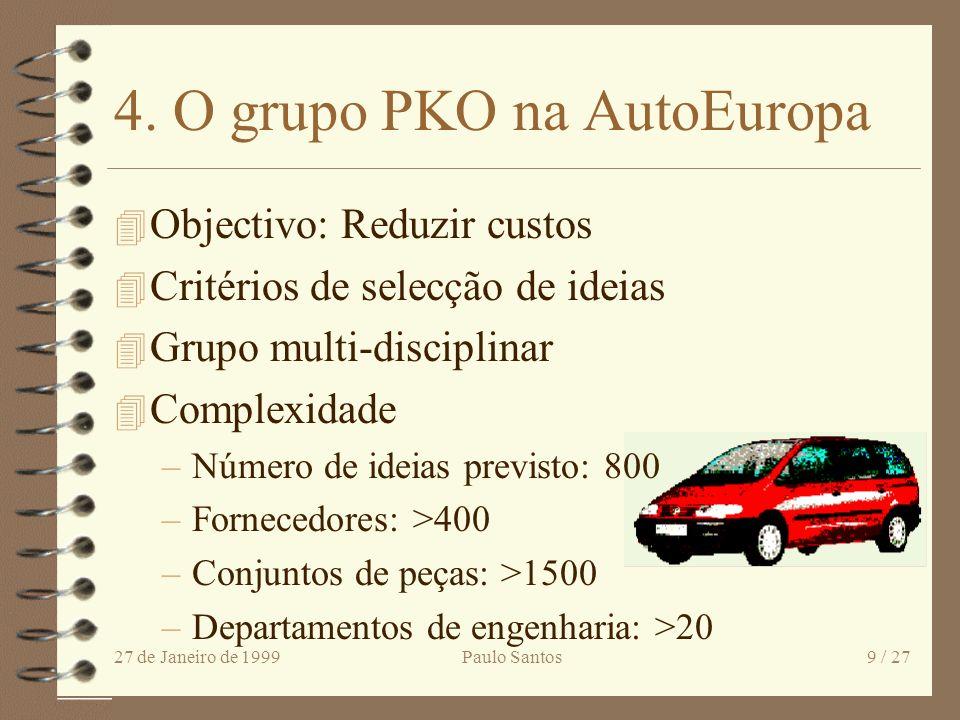4. O grupo PKO na AutoEuropa
