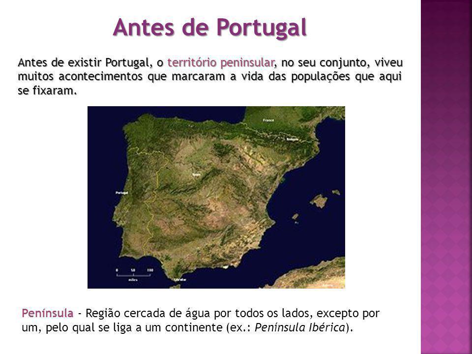 Antes de Portugal