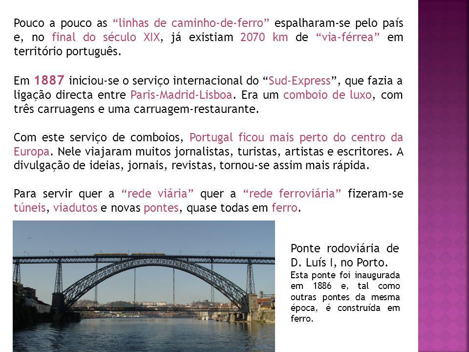 Ponte rodoviária de D. Luís I, no Porto.