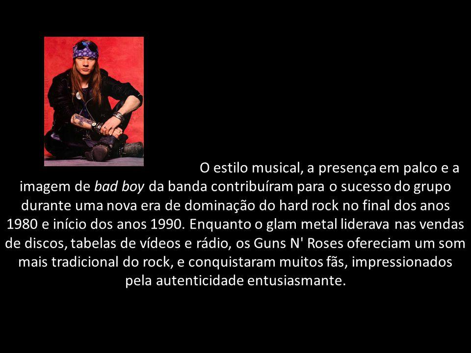 O estilo musical, a presença em palco e a imagem de bad boy da banda contribuíram para o sucesso do grupo durante uma nova era de dominação do hard rock no final dos anos 1980 e início dos anos 1990.