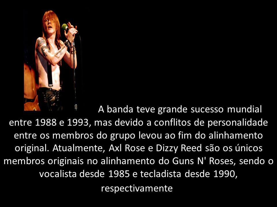 A banda teve grande sucesso mundial entre 1988 e 1993, mas devido a conflitos de personalidade entre os membros do grupo levou ao fim do alinhamento original.