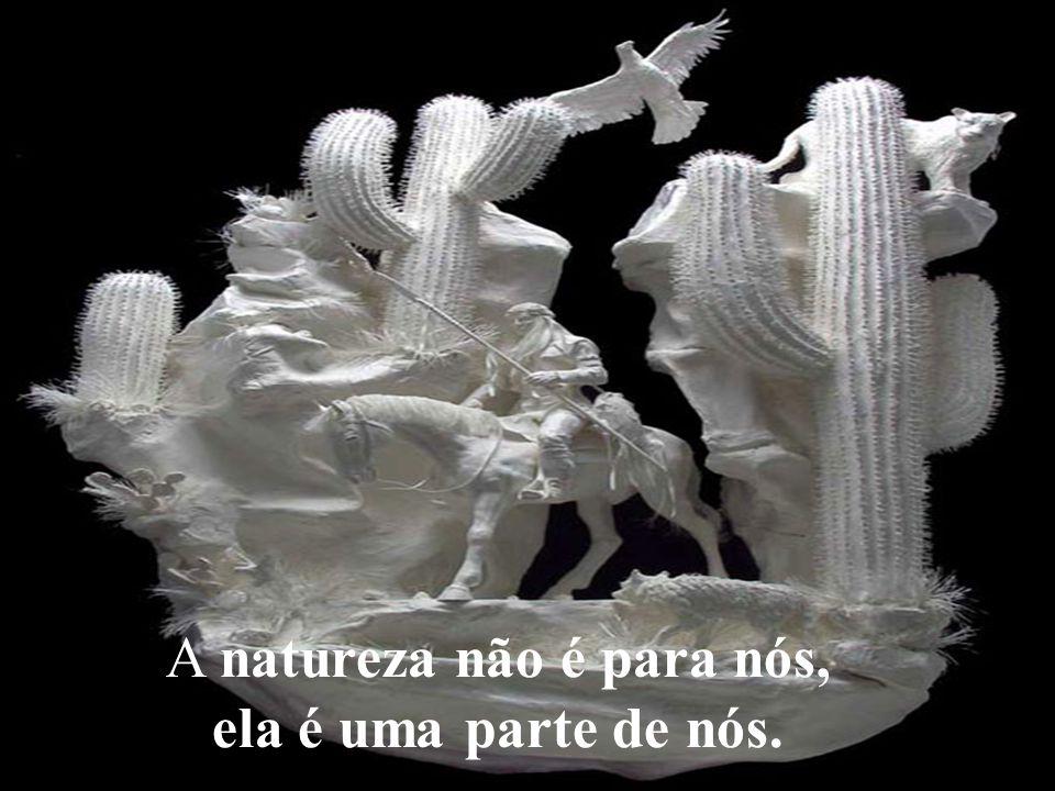 A natureza não é para nós,