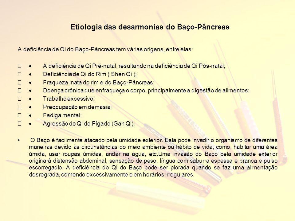 Etiologia das desarmonias do Baço-Pâncreas