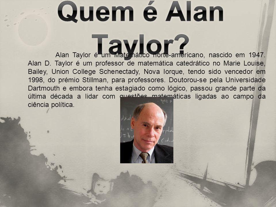 Quem é Alan Taylor