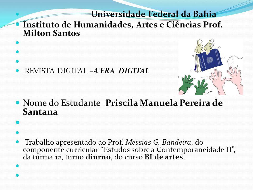 Nome do Estudante -Priscila Manuela Pereira de Santana