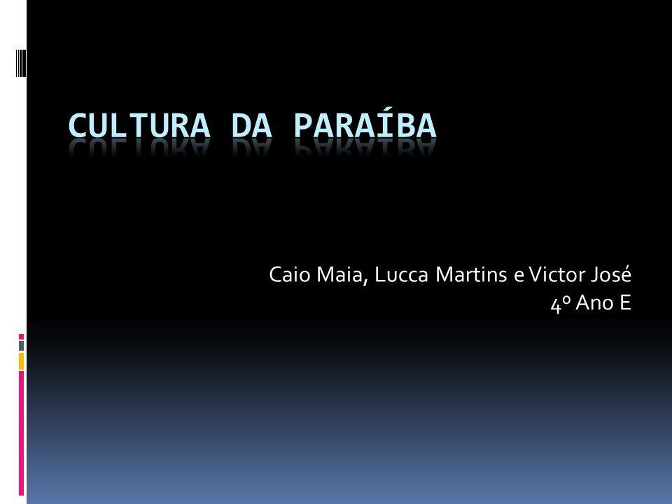 Caio Maia, Lucca Martins e Victor José 4º Ano E