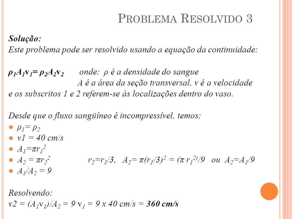 Problema Resolvido 3 Solução: