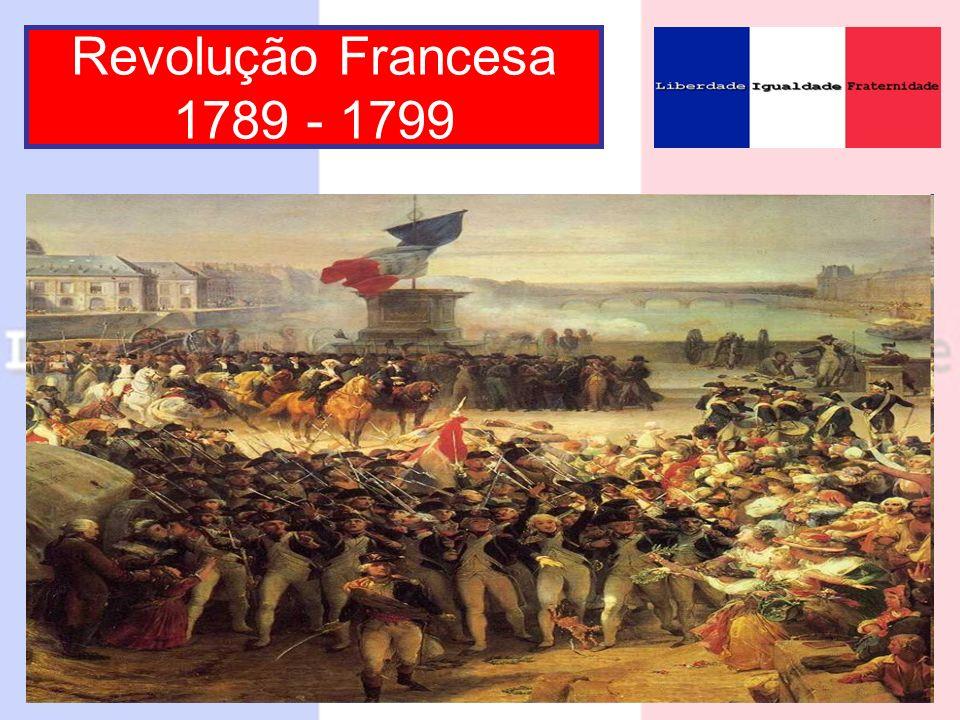 Revolução Francesa 1789 - 1799