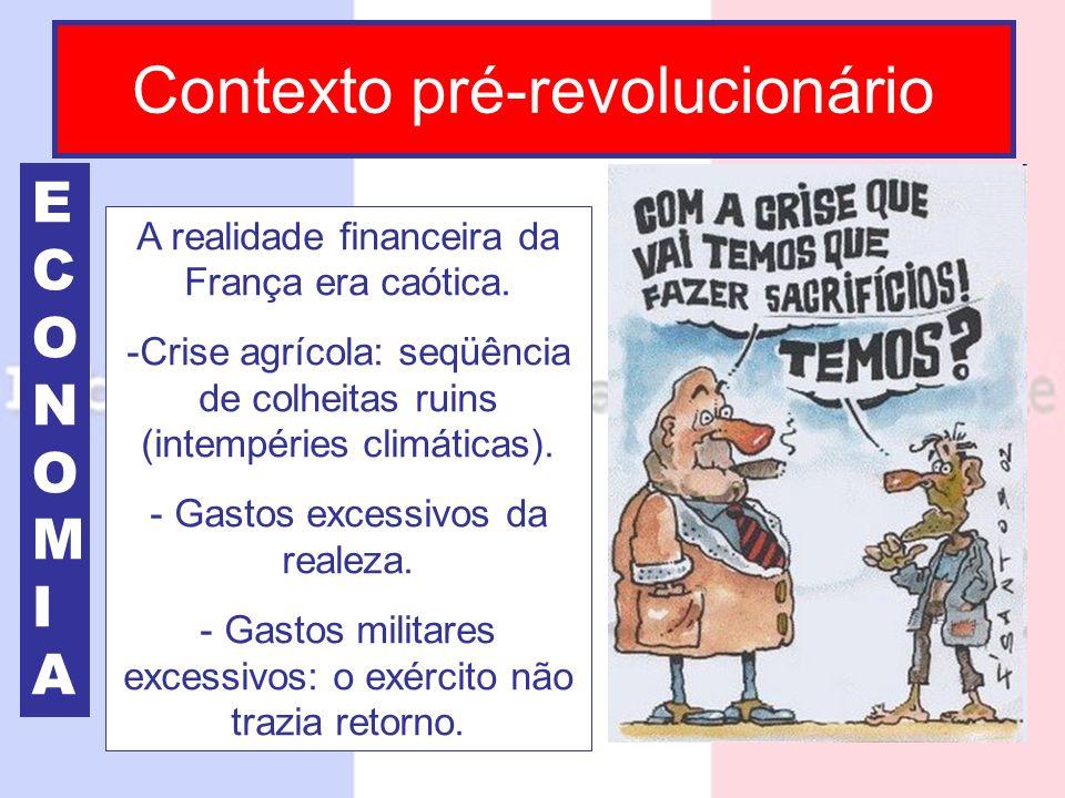 Contexto pré-revolucionário