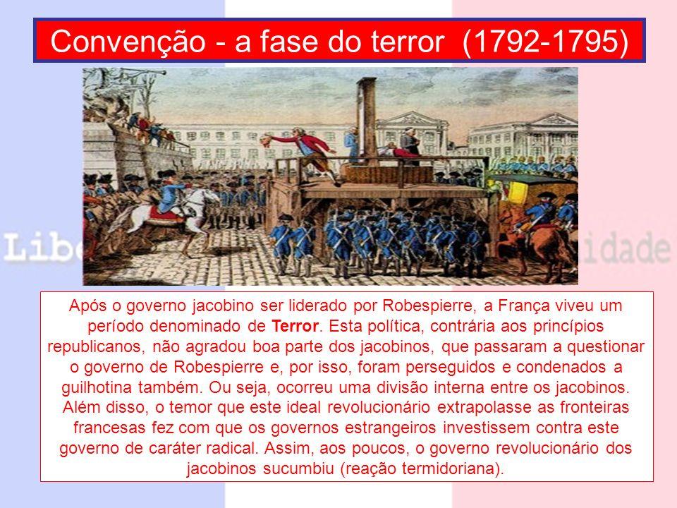 Convenção - a fase do terror (1792-1795)