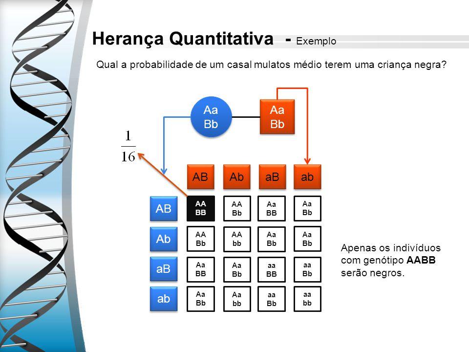 Herança Quantitativa - Exemplo