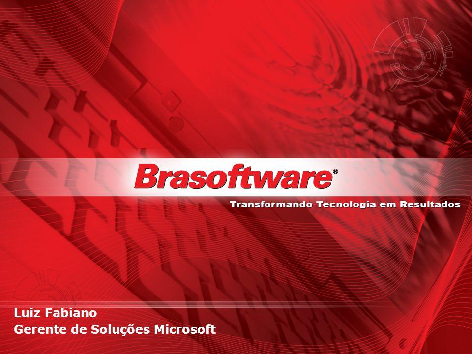 Luiz Fabiano Gerente de Soluções Microsoft