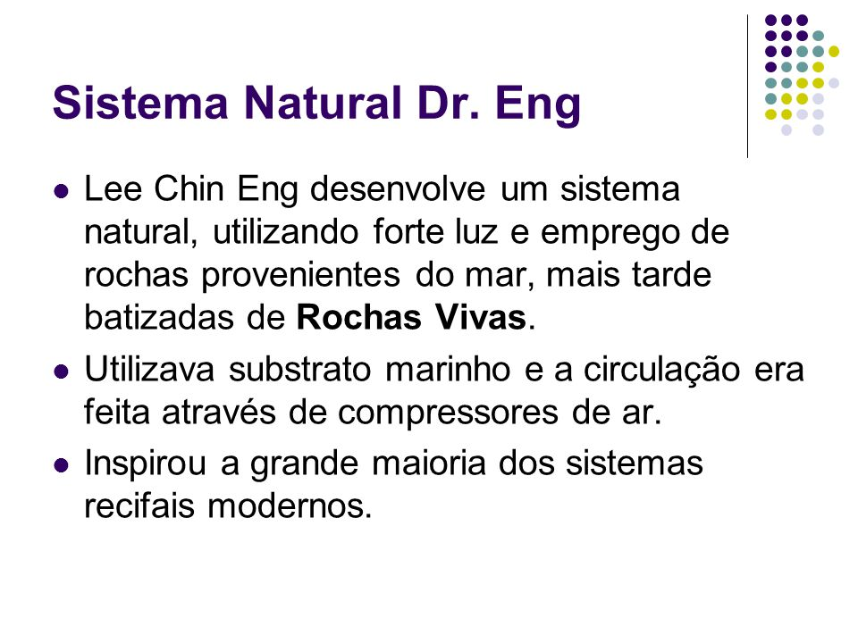 Sistema Natural Dr. Eng