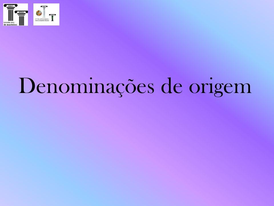 Denominações de origem