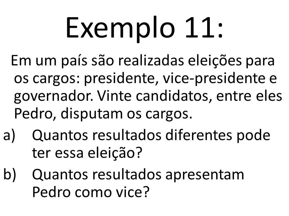 Exemplo 11: