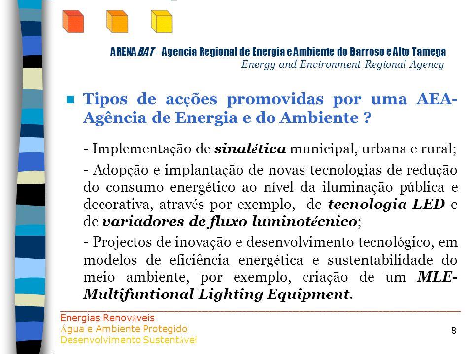 - Implementação de sinalética municipal, urbana e rural;