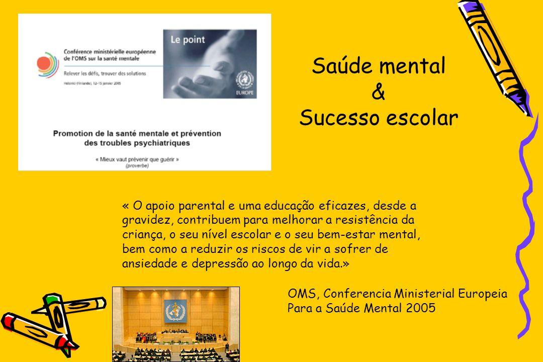 Saúde mental & Sucesso escolar