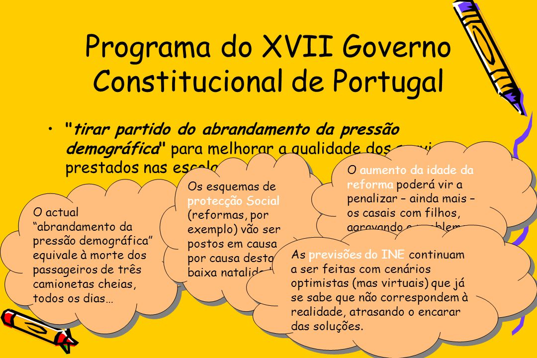 Programa do XVII Governo Constitucional de Portugal