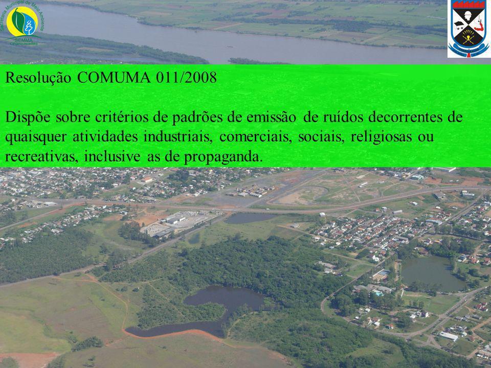 Resolução COMUMA 011/2008