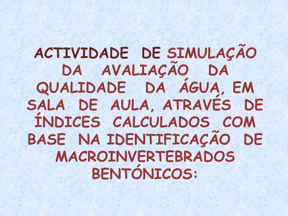 MACROINVERTEBRADOS BENTÓNICOS: