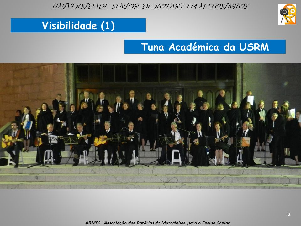 UNIVERSIDADE SÉNIOR DE ROTARY EM MATOSINHOS