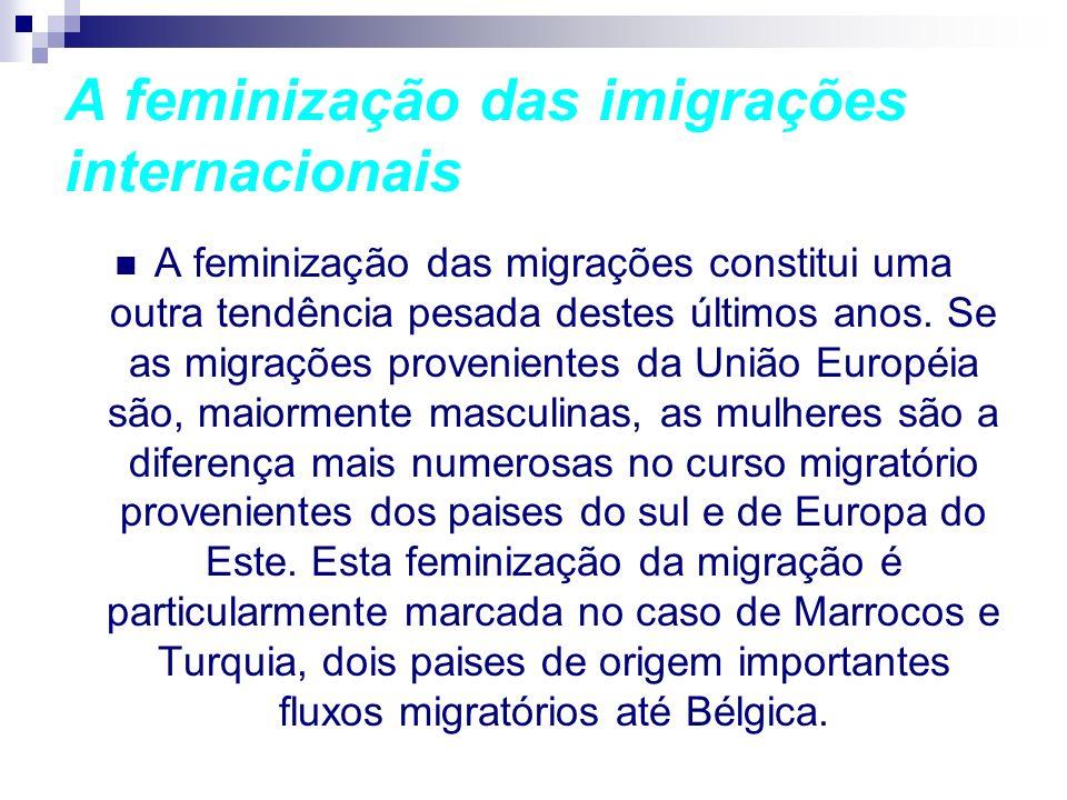 A feminização das imigrações internacionais