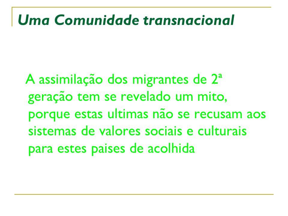 Uma Comunidade transnacional