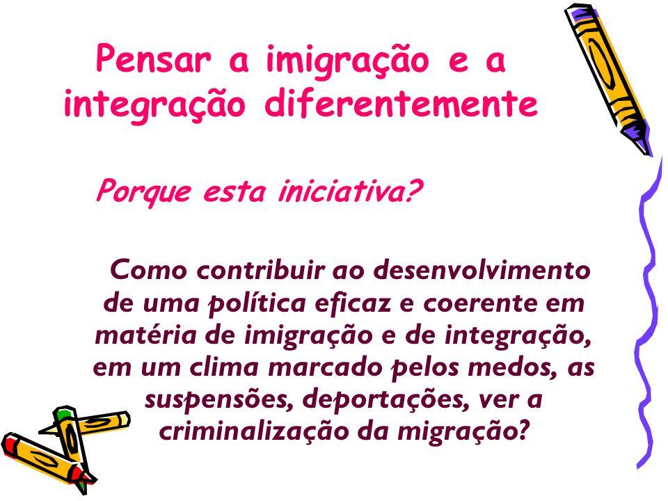 Pensar a imigração e a integração diferentemente