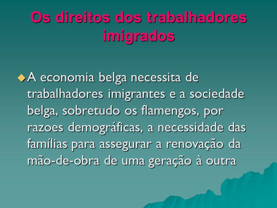 Os direitos dos trabalhadores imigrados