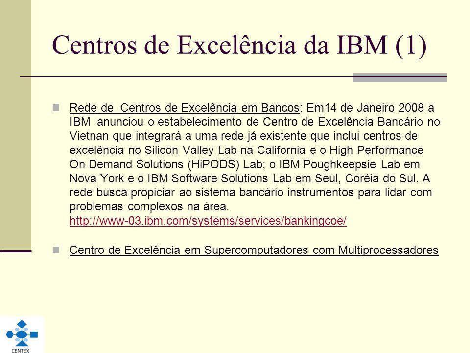 Centros de Excelência da IBM (1)