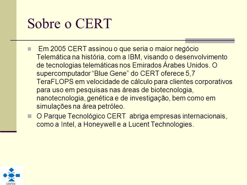 Sobre o CERT