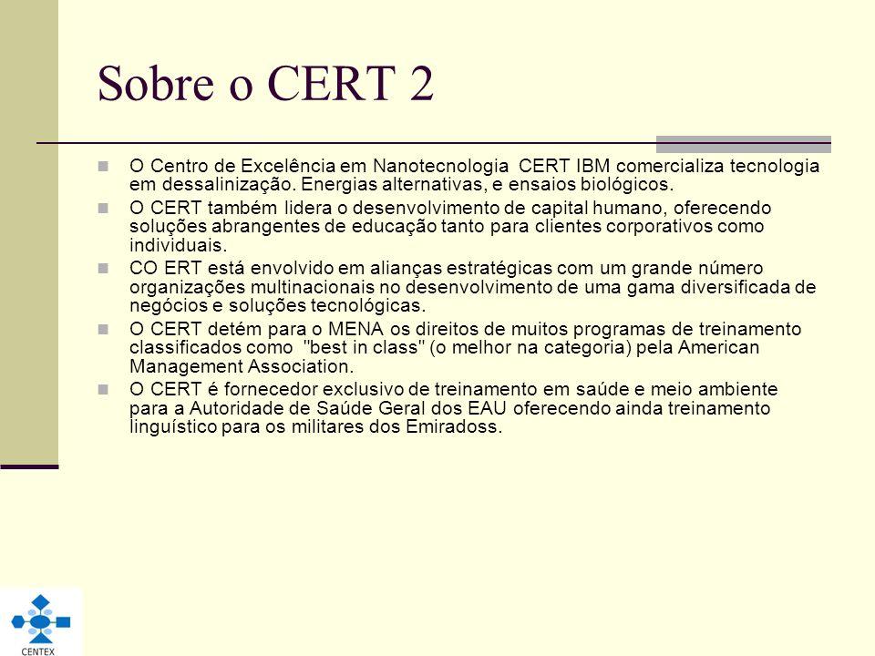 Sobre o CERT 2