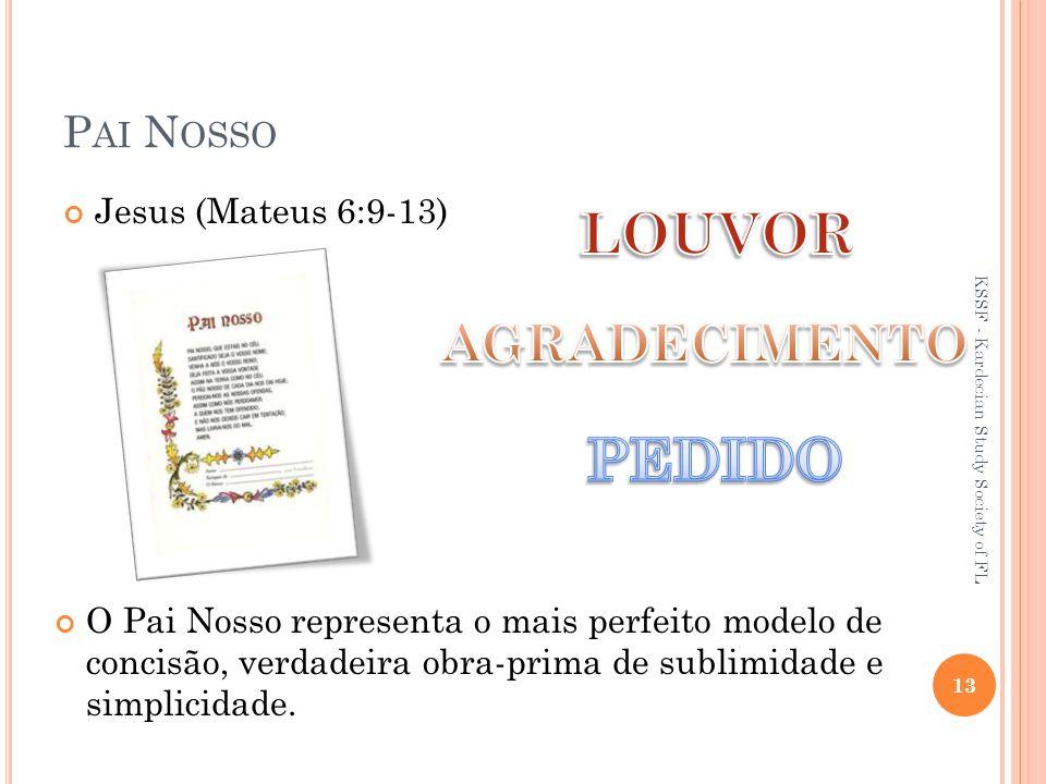 LOUVOR PEDIDO AGRADECIMENTO Pai Nosso Jesus (Mateus 6:9-13)