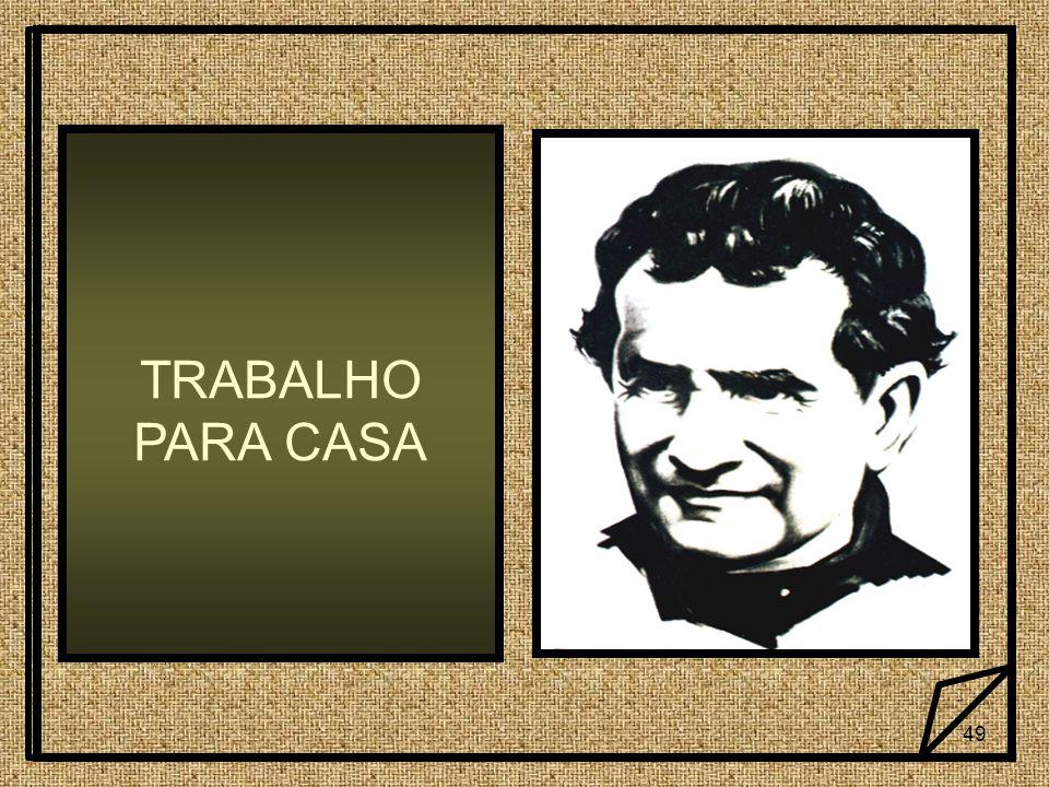 TRABALHO PARA CASA