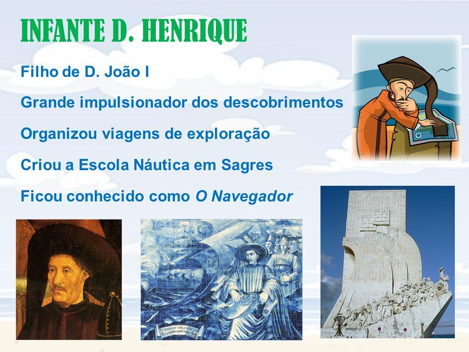INFANTE D. HENRIQUE Filho de D. João I