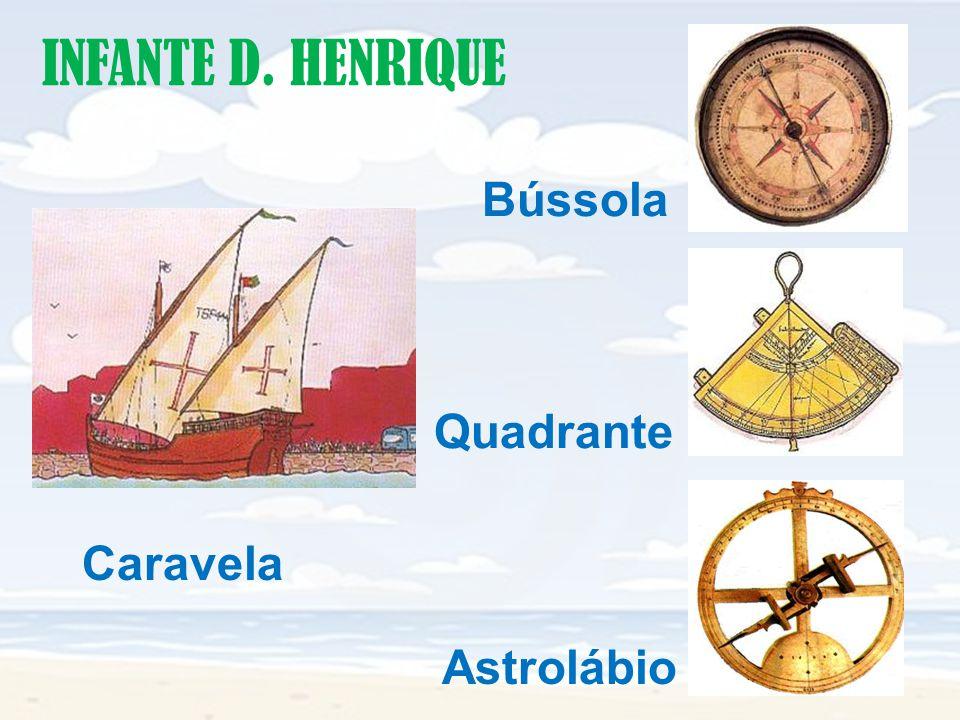 INFANTE D. HENRIQUE Bússola Quadrante Caravela Astrolábio
