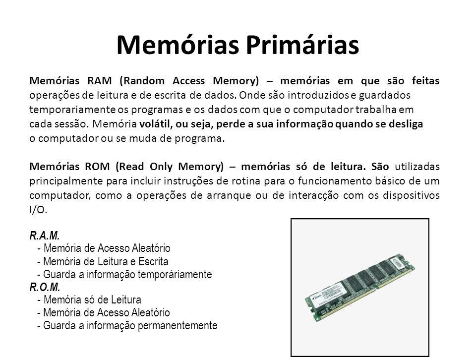 Memórias Primárias