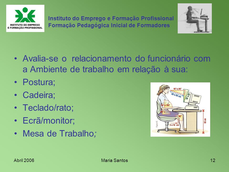 Instituto do Emprego e Formação Profissional Formação Pedagógica Inicial de Formadores
