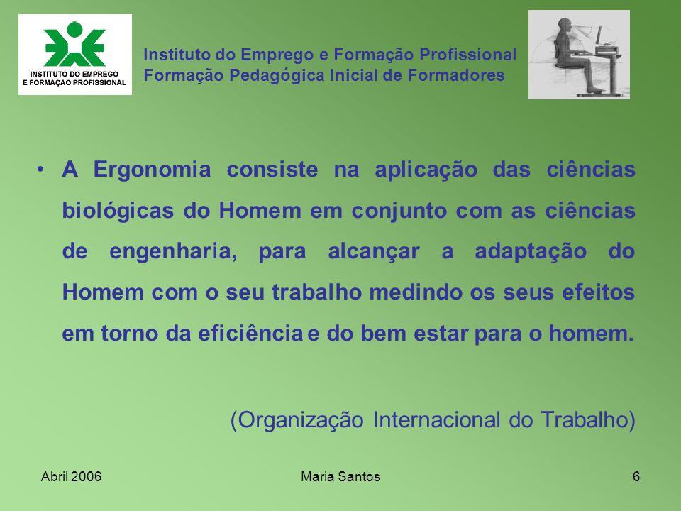 (Organização Internacional do Trabalho)
